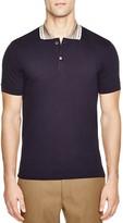 Marc Jacobs Metallic Collar Slim Fit Polo Shirt