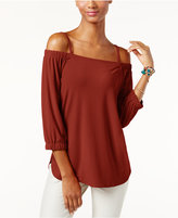 INC International Concepts Petite Off-The-Shoulder Top, Only at Macy's