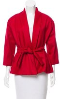 Isa Arfen Wool Shawl Collar Jacket w/ Tags