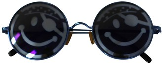 Bernhard Willhelm Blue Metal Sunglasses