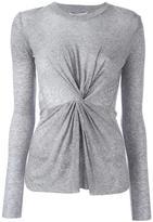 Derek Lam 10 Crosby front knot sweater