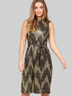 M&Co Izabel aztec belted midi dress