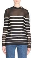 Balmain Breton Stripe Sweater