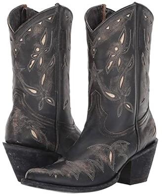Old Gringo Reno YP (Black/Beige) Cowboy Boots