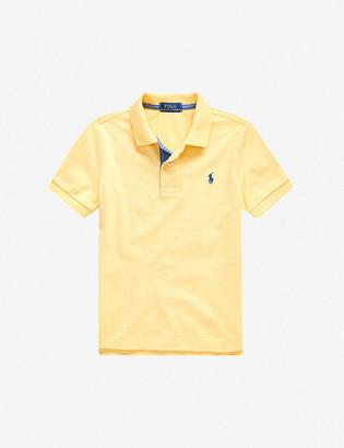 Ralph Lauren Logo cotton-jersey polo shirt 2-14 years