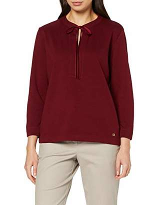 Daniel Hechter Women's Bow Tie Longsleeve T-Shirt,8 (Size:34)