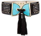 Balmain Tassel Front Belt
