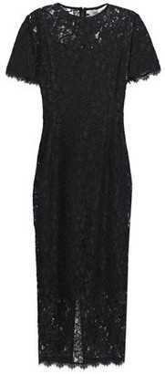 Diane von Furstenberg Corded Lace Midi Dress