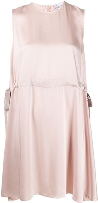 RED Valentino point d'Esprit sleeved dress
