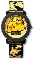 Pokemon Kids' Digital Wristwatch - Yellow