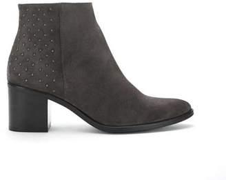Mint Velvet Ottilie Grey Suede Ankle Boots