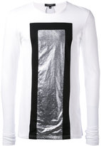 Unconditional graphic printed top