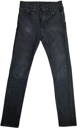 Levi's 510 Blue Polyester Jeans