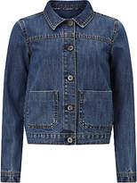 John Lewis Children's Denim Jacket, Light Blue