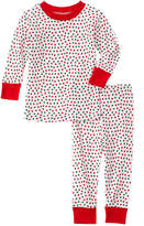 New Jammies Unisex 2Pc Christmas Dots Lounge Set