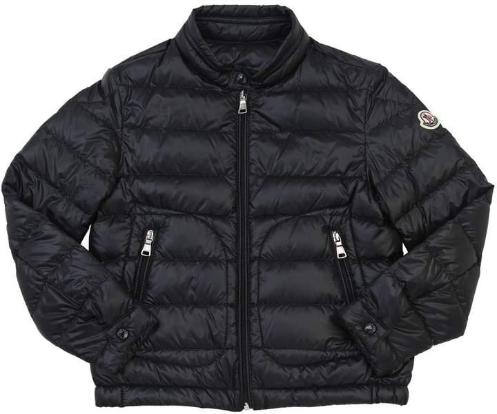 Moncler Acorus Shiny Nylon & Down Jacket