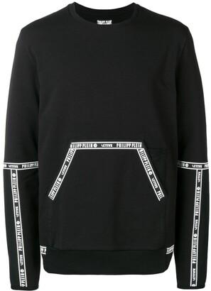Philipp Plein Contrast Piped Sweatshirt