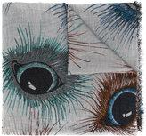 Faliero Sarti eye print scarf - women - Cashmere/Modal - One Size
