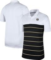Nike Men's White/Black Army Black Knights Striped Polo