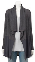 Juicy Couture Women's Textured Metallic Cardigan