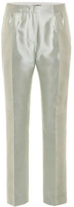 Max Mara Venere silk and cotton pants
