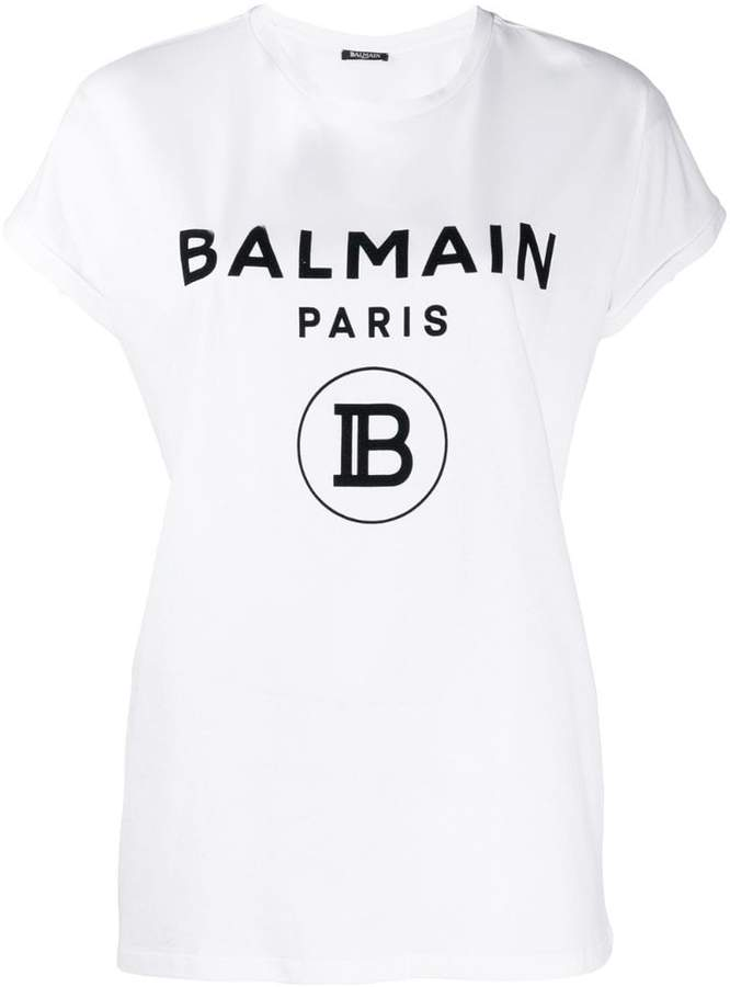 9af8c08f78 Balmain Women's Tees And Tshirts - ShopStyle