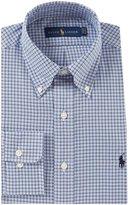 Polo Ralph Lauren Classic-Fit Button-Down Collar Plaid Oxford Dress Shirt