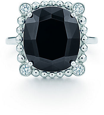 Tiffany & Co. Ziegfeld Collection:Black Spinel Ring