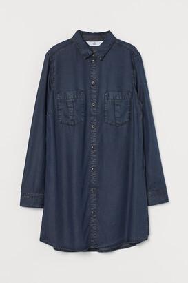 H&M Lyocell Shirt Dress