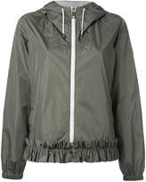 Fay hooded bomber jacket
