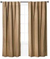 """Twill Light Blocking Curtain Panel - Pillowfort Tan 84"""""""