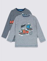 Marks and Spencer 2 Pack Thomas & FriendsTM Tops (1-6 Years)