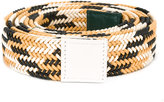 Sofie D'hoore striped belt - women - Cotton/Leather - One Size