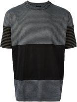 Lanvin striped print T-shirt