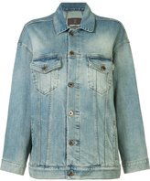 Roberto Cavalli star denim jacket - women - Cotton/Spandex/Elastane - 40