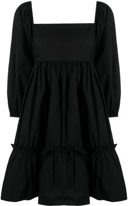 Cara Cara Puff-Sleeved Dress
