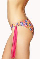 Forever 21 Fringed Geo Bikini Bottom