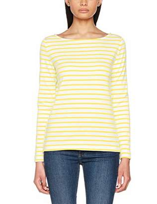 Pieces Women's Pcingrid Ls Top Noos Striped Regular Fit Long Sleeve Long Sleeve Top,16 (Manufacturer size: X-Large)