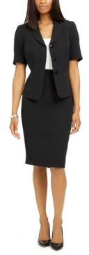 Le Suit Two-Piece Skirt Suit