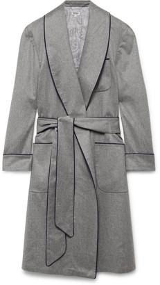 Paul Stuart Piped Cashmere Robe - Men