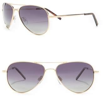Polaroid Aviator 56mm Sunglasses