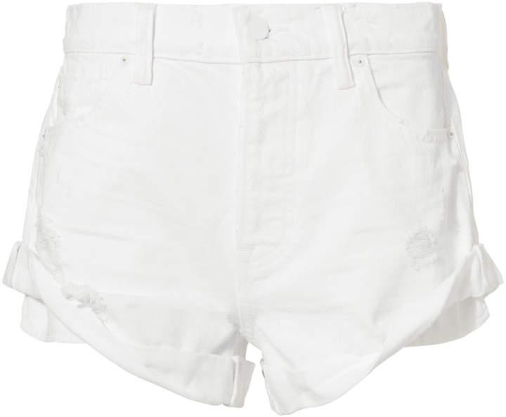 Alexander Wang Hiked Rolled Shorts