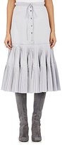 Brock Collection WOMEN'S PLEATED-HEM MIDI SKIRT