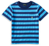 Ralph Lauren Boys 2-7 Little Boys Striped Cotton Tee