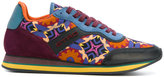 Etro printed lace-up sneakers