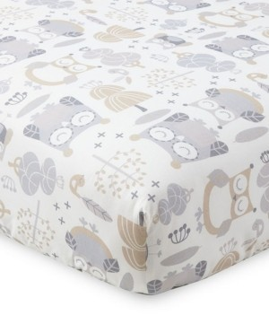 Levtex Baby Night Owl Crib Fitted Sheet Bedding