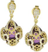 GALA by Daniela Swaebe Fleur Des Lis Amulet Earrings