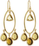 Isharya Geometric Facet Earring Drop