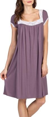 Savi Mom Joliet Maternity/Nursing Nightgown
