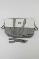 Mayoral Grey & White Diaper Bag